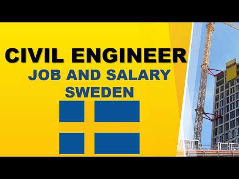 Civil Engineer Salary in Sweden - Jobs and Salaries in Sweden
