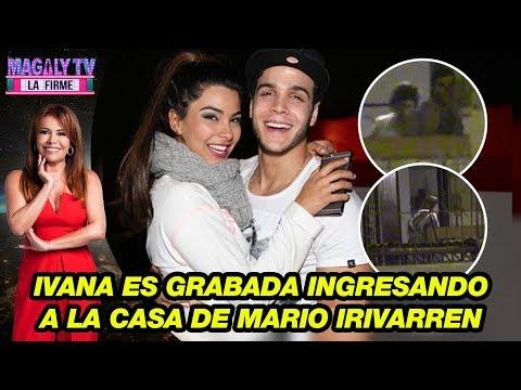 ¡Ampay! Ivana Yturbe es grabada ingresando a la casa de Mario Irivarren