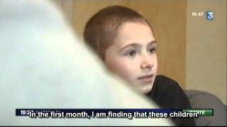 Treating Autism With Antibiotics (France 3 19/20, Feb 17, 2012)