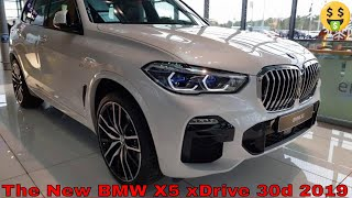The New BMW X5 xDrive 30d 2019 Walk around Launch Edition xLine