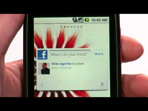 LG Optimus ONE Demonstration Video