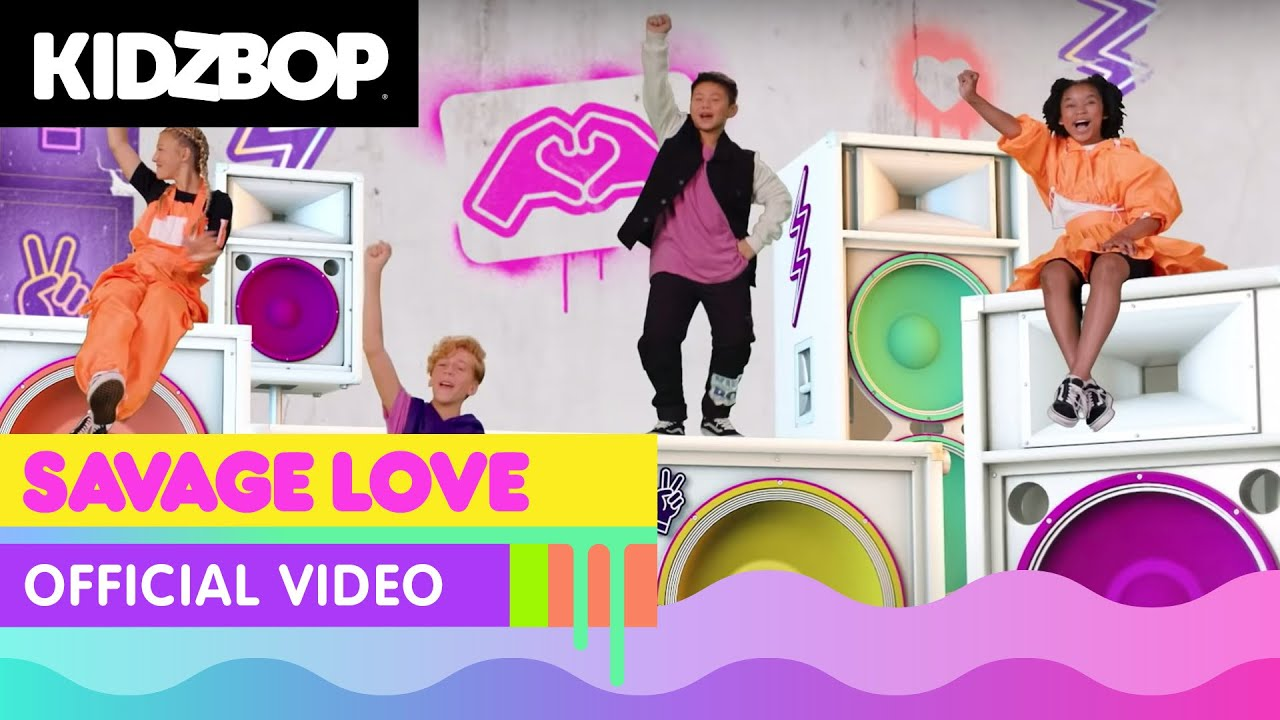 KIDZ BOP Kids - Savage Love (Official Music Video) [KIDZ BOP 2021]