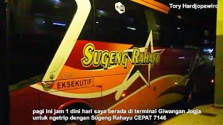 Lari Dini Hari ! Trip Report Bus Sugeng Rahayu PATAS Jogja - Purwokerto