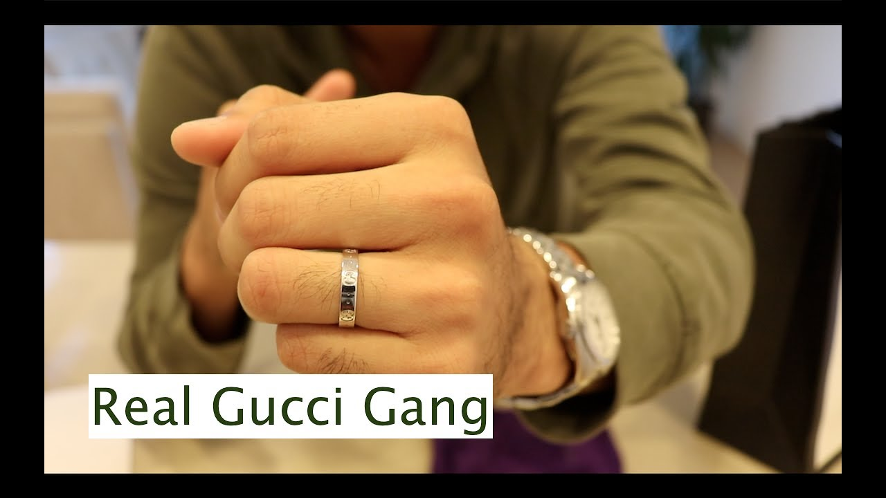 5b2024f0a85b5c Unboxing: Gucci Icon Thin Band - YouTube