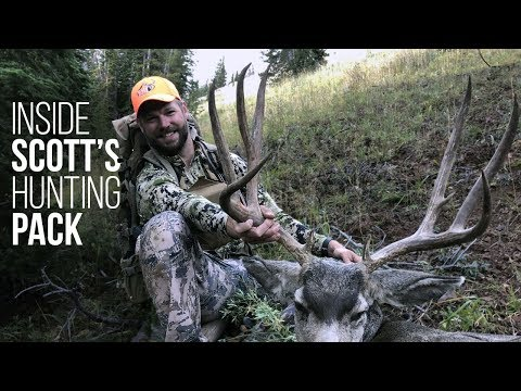 Inside a Hunting Backpack! Essential Gear for Any Hunter