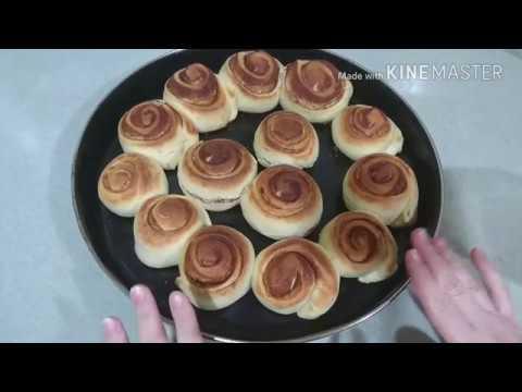 طريقة عمل حلا السينابون بالتوفي هش ولذيذ روووعه مع وصفات من مطبخك Youtube