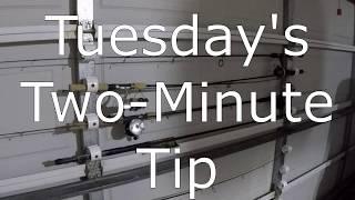 Two-Minute Tip - Garage door rod holder - 20200121