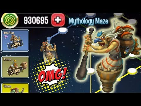 Monster Legends - Mythology Maze Island review get all Vodyanoy Oikawa Brontes Baba Yaga