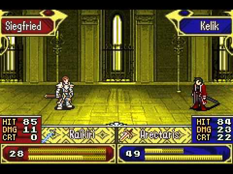 Fire Emblem: The Last Promise   Kelik Pawns Sigfried