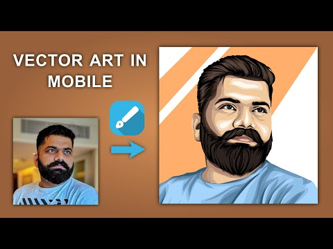 Vector Art in Mobile ft. Technical Guruji | How To Make Vector Art