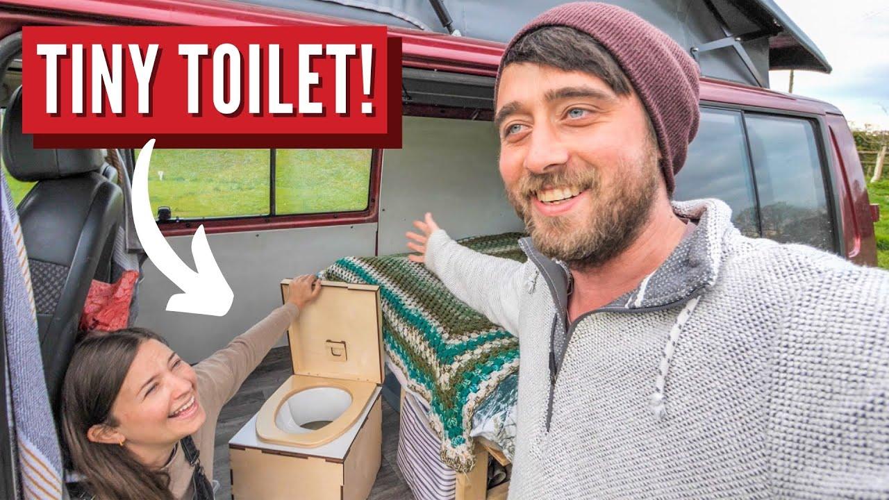 First Night In The Van + Best Toilet For Small Camper Van | UK Vanlife Series