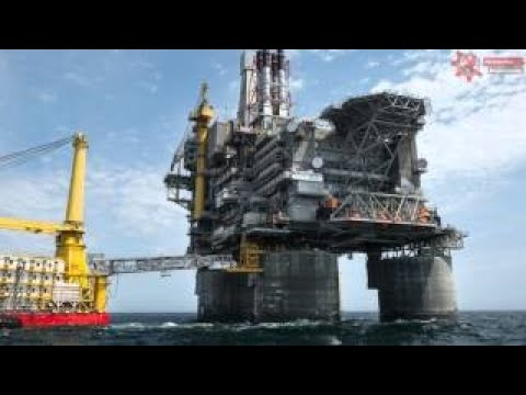 The Largest Oil Rig in The World