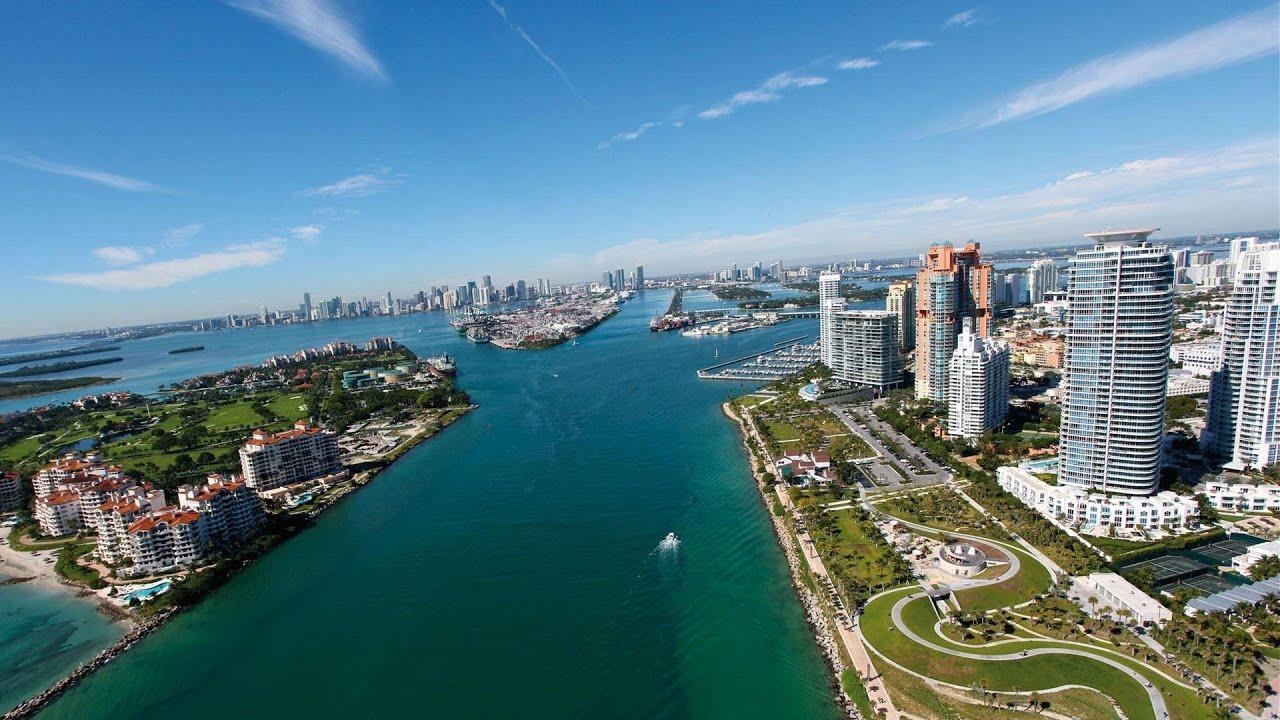Helicopter Tour  Miami Florida  YouTube
