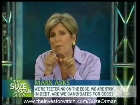 Suze Orman - What is CCCS and How Could They Help?
