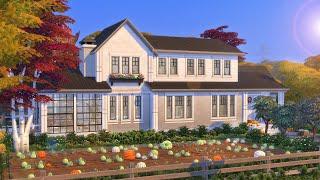 Autumn House 🍂   Stop Motion build   The Sims 4   NO CC