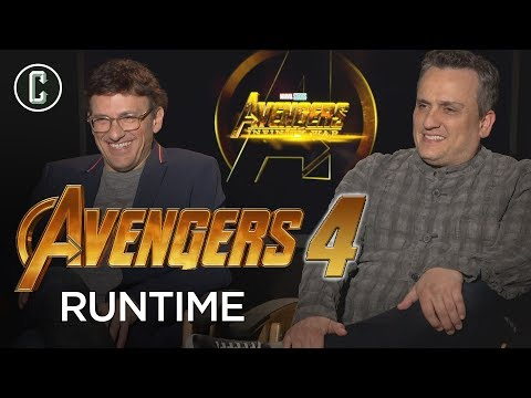 Russo Brothers Say Avengers 4 Will Likely Be Even Longer Than Infinity War