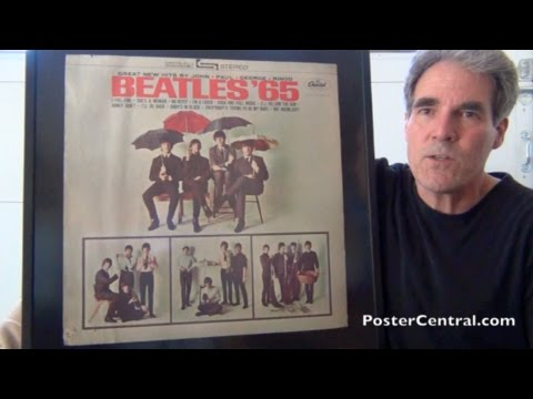 Beatles 65 In Store Display Capitol Records Promo December 1964