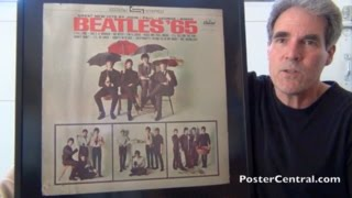 Beatles '65 In-Store Display – Capitol Records Promo December 1964
