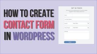 كيفية إنشاء نموذج الاتصال في وورد باستخدام WPForms - من السهل