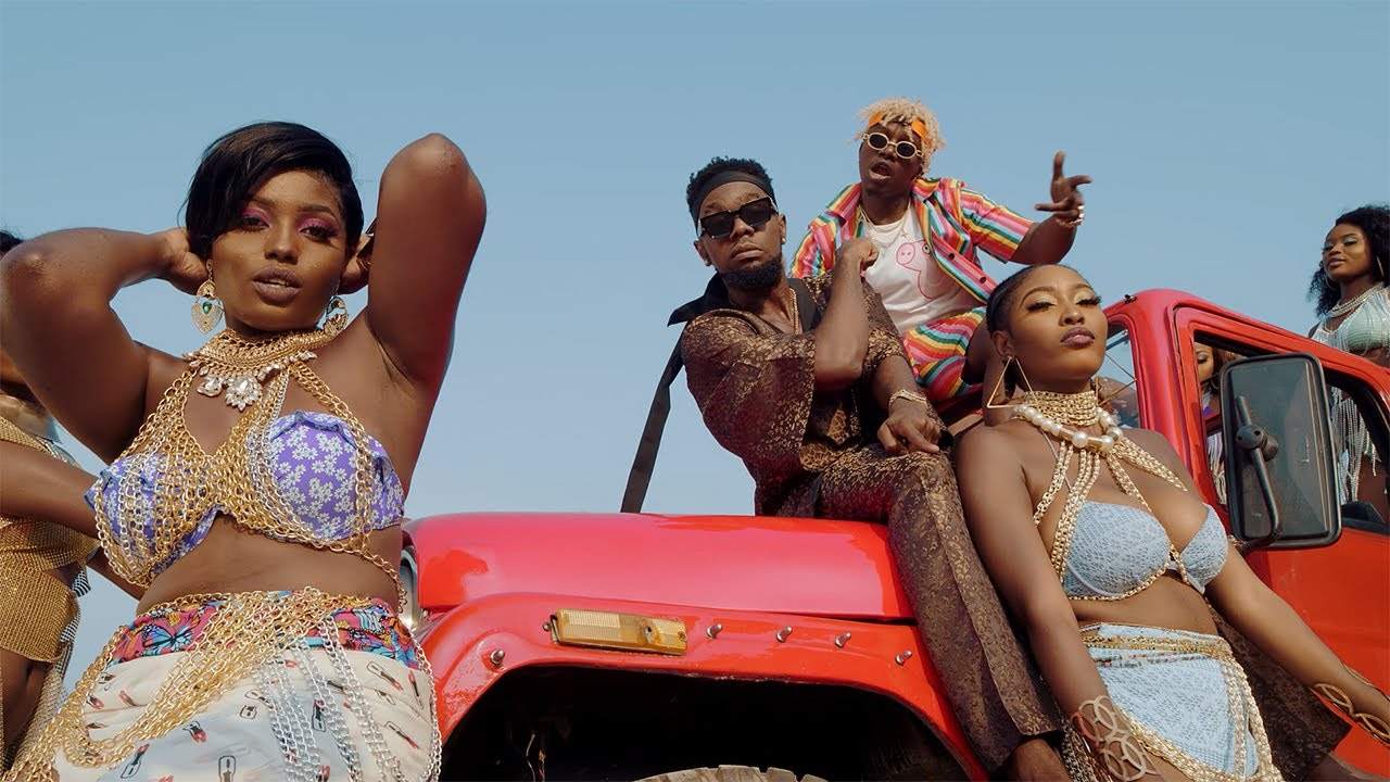 Rayvanny Ft Patoranking, Zlatan & Diamond Platnumz - Tetema Remix (Official Video)