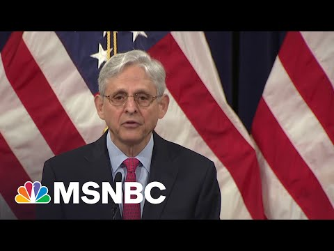 AG Garland Presents National Strategy To Combat Domestic Terrorism