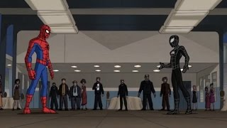 Spectacular Spider-Man (2008) Black Suit Spider-Man vs Chameleon part 1