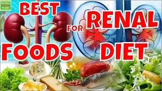 BEST FOODS FOR RENAL  DIET
