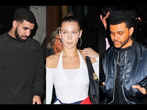 Drake And The Weeknd Are Allegedly Beefing After Drake Piped Down The Weeknd's Ex 'Bella Hadid'