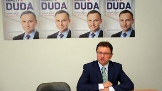 Pose� Arkadiusz Czartoryski o kandydaturze Andrzeja Dudy