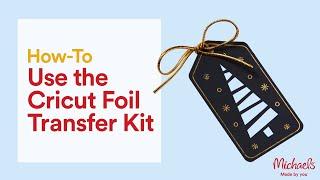 Online Class: Cricut Foil Transfer System Class | Michaels