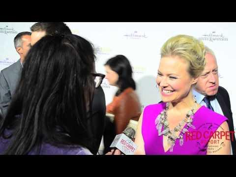 Kristin Booth at the HallmarkChannel HallmarkMovie Winter TCA15 Tour