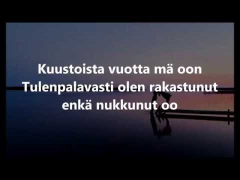 Lauri Tähkä - Morsian [Sanat / Lyrics] [HD]