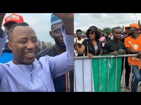 OMOYELE SOSWORE JOIN #ENDSWAT PROTEST TO ABUJA HOUSE OF ASSEMBLY