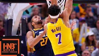 Los Angeles Lakers vs Utah Jazz Full Game Highlights | March 27, 2018-19 NBA Season