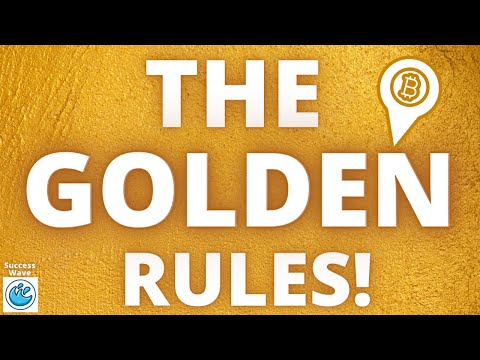 Golden Rules for Investing in Cryptocurrency