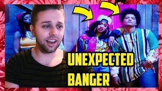 BRUNO MARS - FINESSE (REMIX) FEAT. CARDI B [OFFICIAL MUSIC VIDEO] (REACTION)