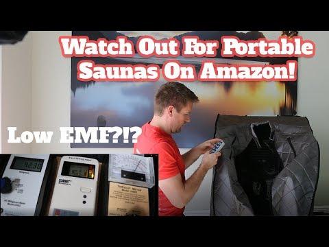 Portable Sauna EMF Levels - Radiant Portable Sauna [SUPER HIGH EMF] Amazon Infrared Sauna