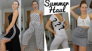 Summer Outfits Try On Haul