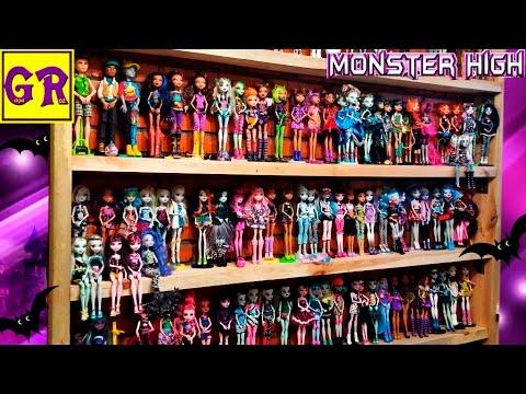 Мои куклы монстер хай видео фото 671-463