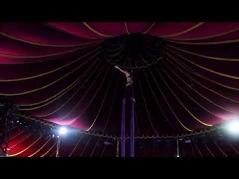 Marina Ermakova - Aerial Silks Act - Strange Birds