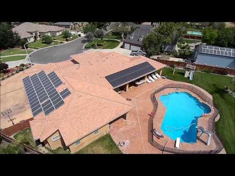 Renewable Solar Custom Home Install