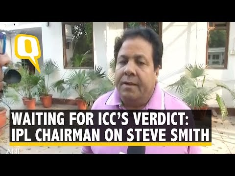 BCCI, Rajasthan Royals to Wait for ICC Verdict on Steve Smith: Shukla on Ball Tampering Scandal