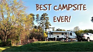 BEST CAMPSITE EVER | EBEΝEZER PARK SOUTH CAROLINA | Cook Clean And Repeat
