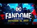 """Revelados trailer e programação do """"DC FanDome 2021"""""""