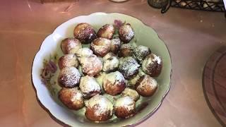 Очень вкусные творожные пончики))) Быстро и просто! ☕️😋