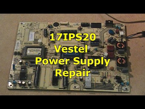 17IPS20 Vestel Power Supply Repair