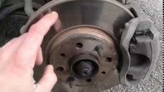 Тормозной диск и колодки FENOX на Fiat ALBEA после 8000 тысяч километров