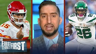 Nick Wright breaks down the impact Le'Veon Bell could have on his Chiefs | NFL | FIRST THINGS FIRST