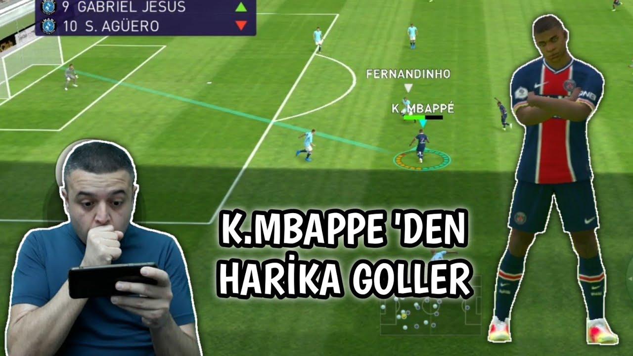ONLINE MATCHDAY | K.MBAPPE ŞOV 2 MAÇTA 6 GOL - eFootball PES 2021 MOBİLE