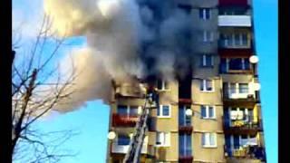 Pożar w wieżowcu